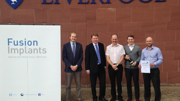 Fusion Implants has entered the final stages of the Merseyside Innovation Awards competition